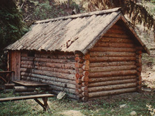 Meadowlark's First Log Cabin