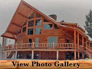 Glacier Park Amish Log Home