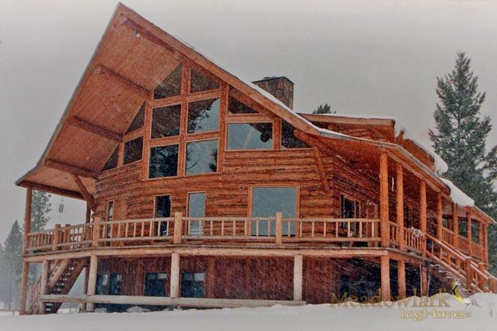 Log Home Archives - Meadowlark Log Homes