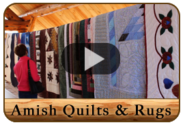 Amish Quilt and Rugs Auction Video