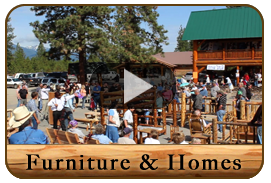 Amish Log Home Auction Video