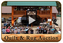 Amish Quilt and Rug Auction Video