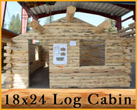 Cabin Log Package Details