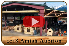 2018 Amish Auction in Libby Montana