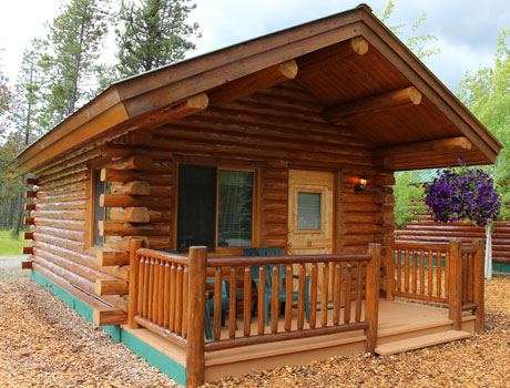 Montana log cabins amish built meadowlark log homes for One room log cabin for sale