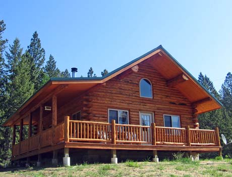 Montana log homes amish log builders meadowlark log homes take tour solutioingenieria Gallery