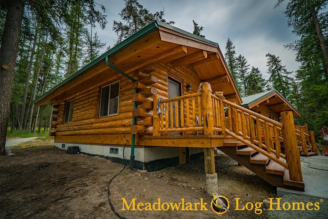 Montana Cabin 18x24 Meadowlark Log Homes