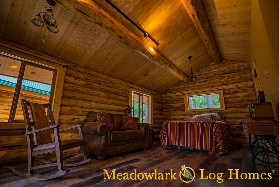 Montana Cabin 18x24 Meadowlark Log Homes