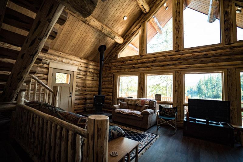 Angel Chalet Meadowlark Log Homes