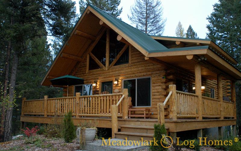 Swiss Chalet - Meadowlark Log Homes