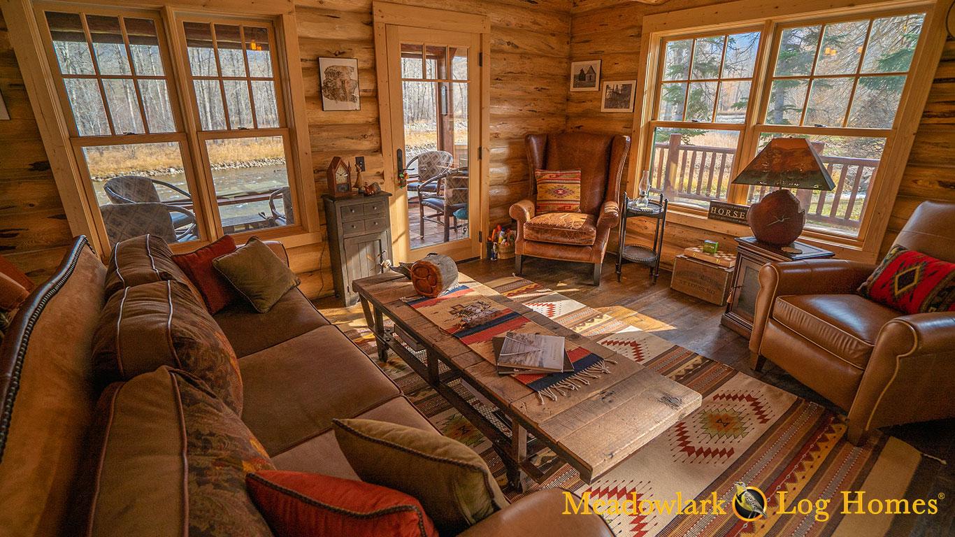 Swiss Chalet Meadowlark Log Homes