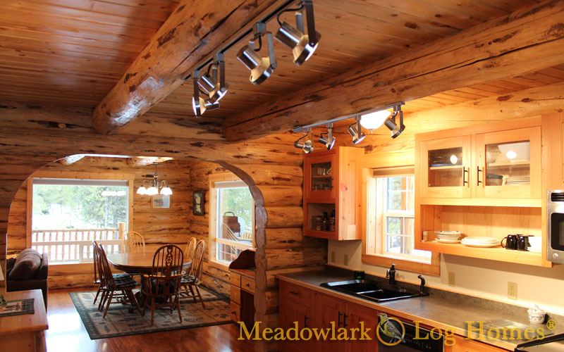Swiss Chalet Meadowlark Log Homes
