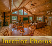Big Sky Rancher Log Homestead Interior