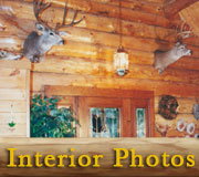 Montana Rancher Log Homestead Interior