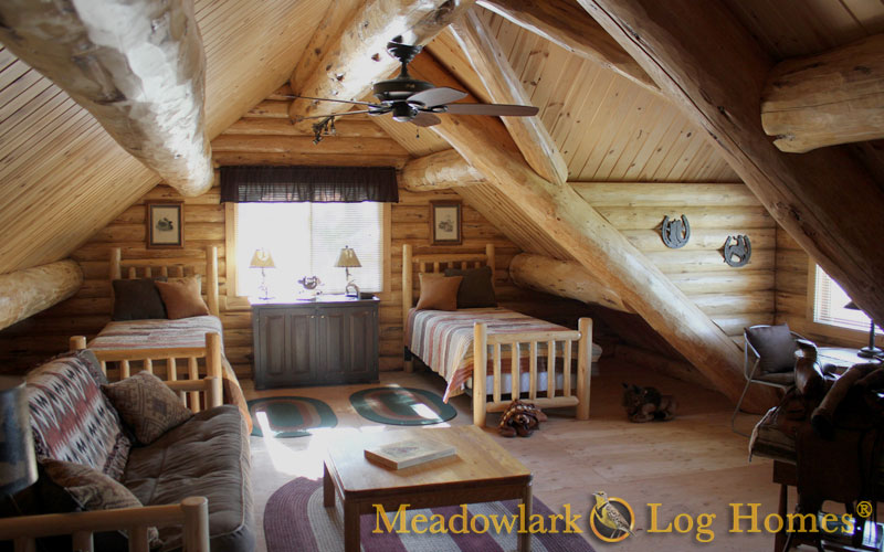 Silver Wolf Log Homestead Meadowlark Log Homes
