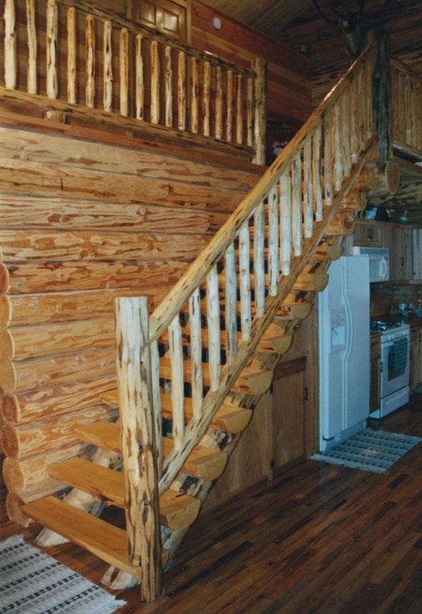 Wilderness Hideaway Log Homestead Interior