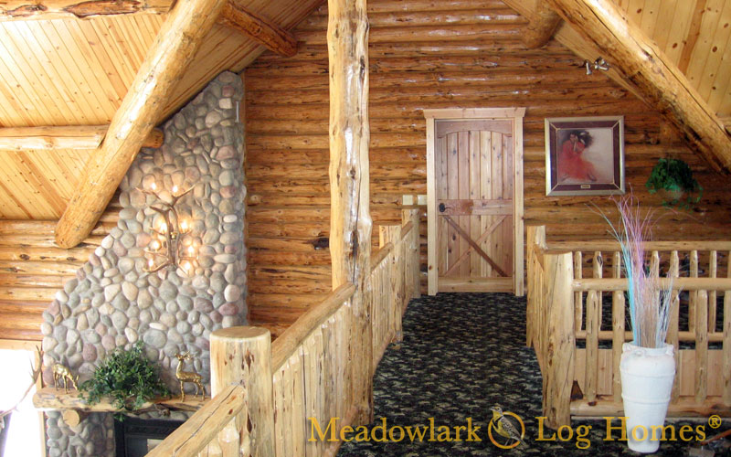 Elk Meadow Log Lodge Meadowlark Log Homes