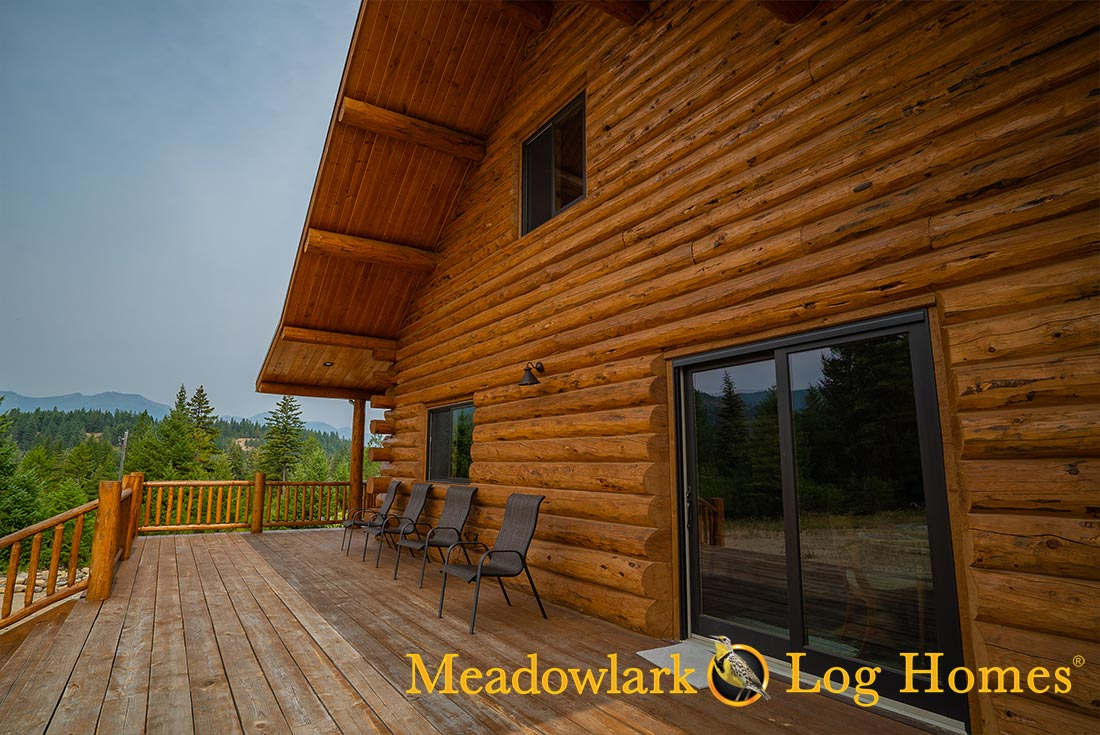 Granite Peak Meadowlark Log Homes