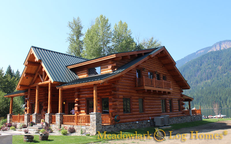 Montana Lodge Meadowlark Log Homes