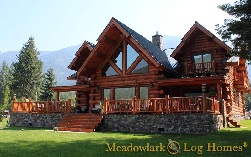 Log Home Designs Montana Home Design