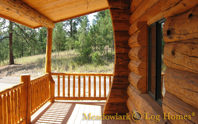 Snowshoe Log Lodge Meadowlark Log Homes