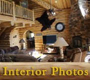 Treasure Mountain Log Lodge Interior