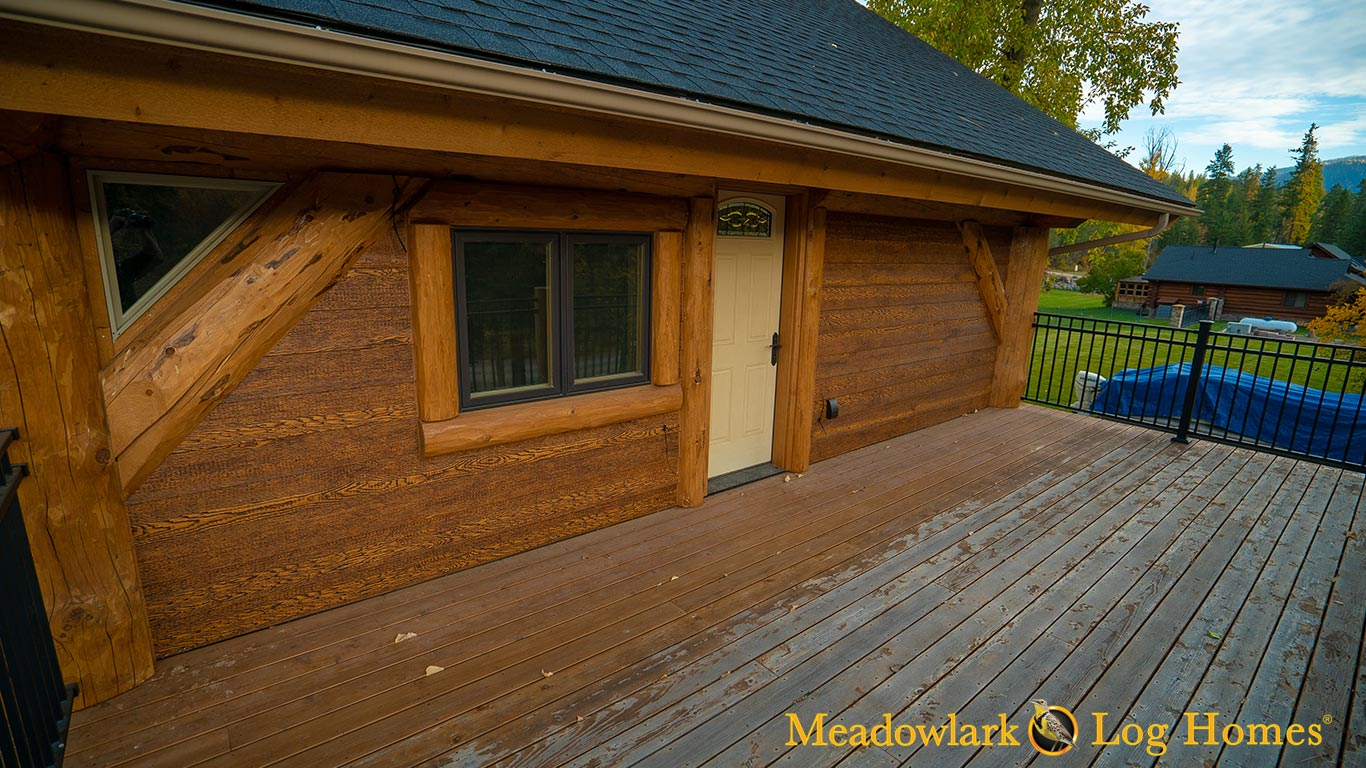 42x52 Montana Timber Frame Meadowlark Log Homes