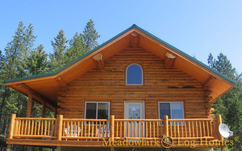 Green Gables Log Cabin Meadowlark Log Homes