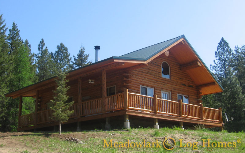Green Gables Meadowlark Log Homes