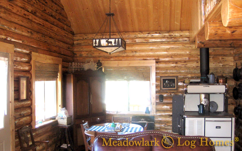 Green Gables Log Cabin Meadowlark Log Homes