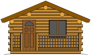 Montana Log Cabins - Amish Built - Meadowlark Log Homes