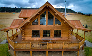 Yellowstone Chalet Montana Log Home