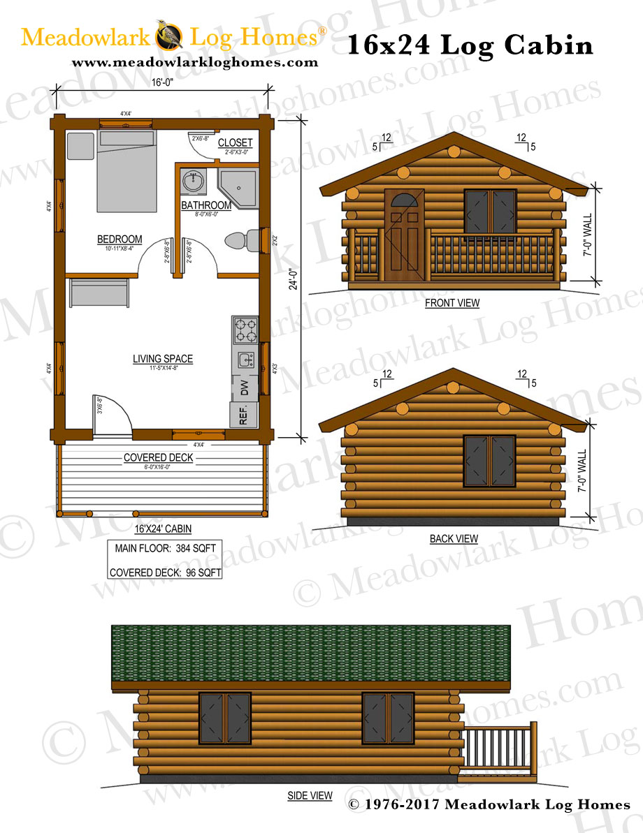 Log cabin floor plans 2000 sq feet for Square log cabin plans