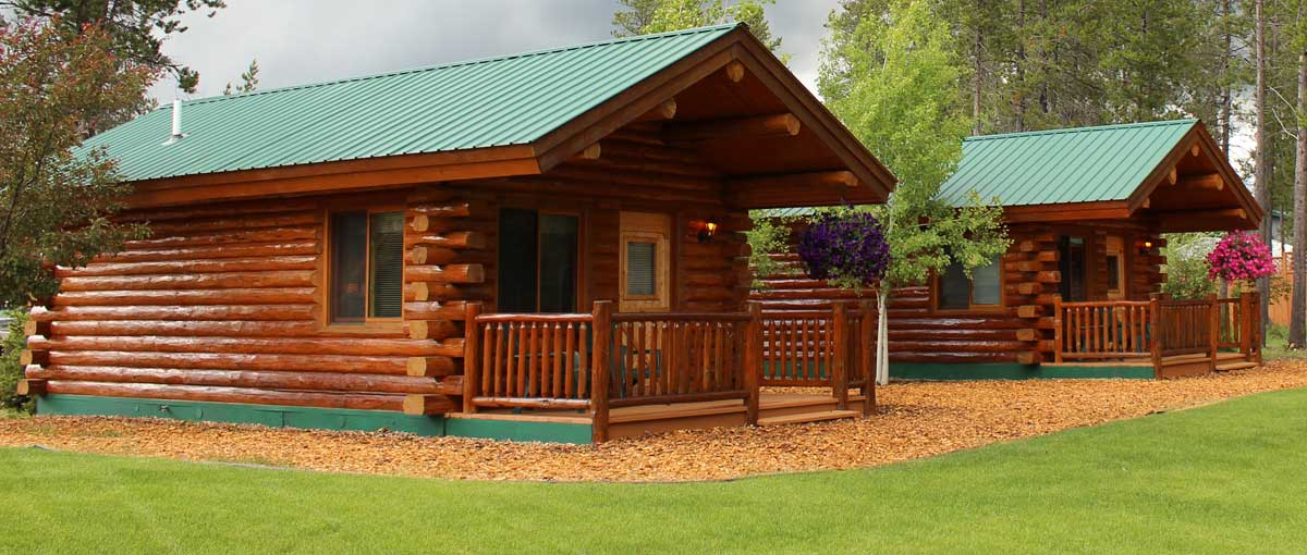 Montana Log Homes Amish Log Builders Meadowlark Log Homes