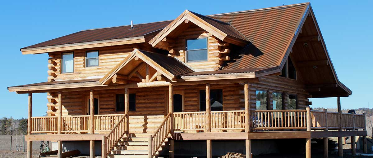 Montana log homes amish log builders meadowlark log Yellowstone log cabin hotel