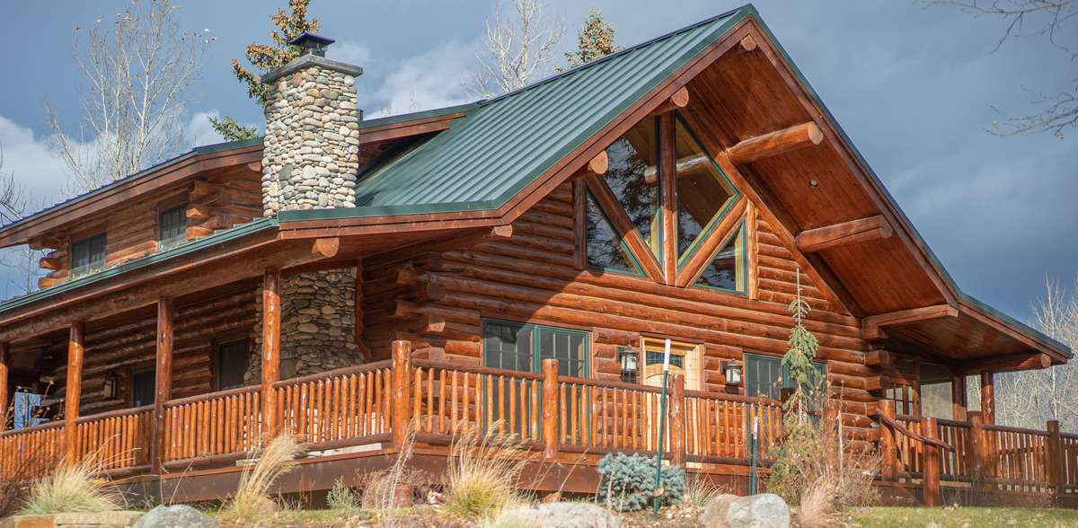 Swiss chalet meadowlark log homes for 24x30 cabin