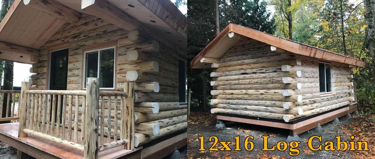 12x16 Log Cabin