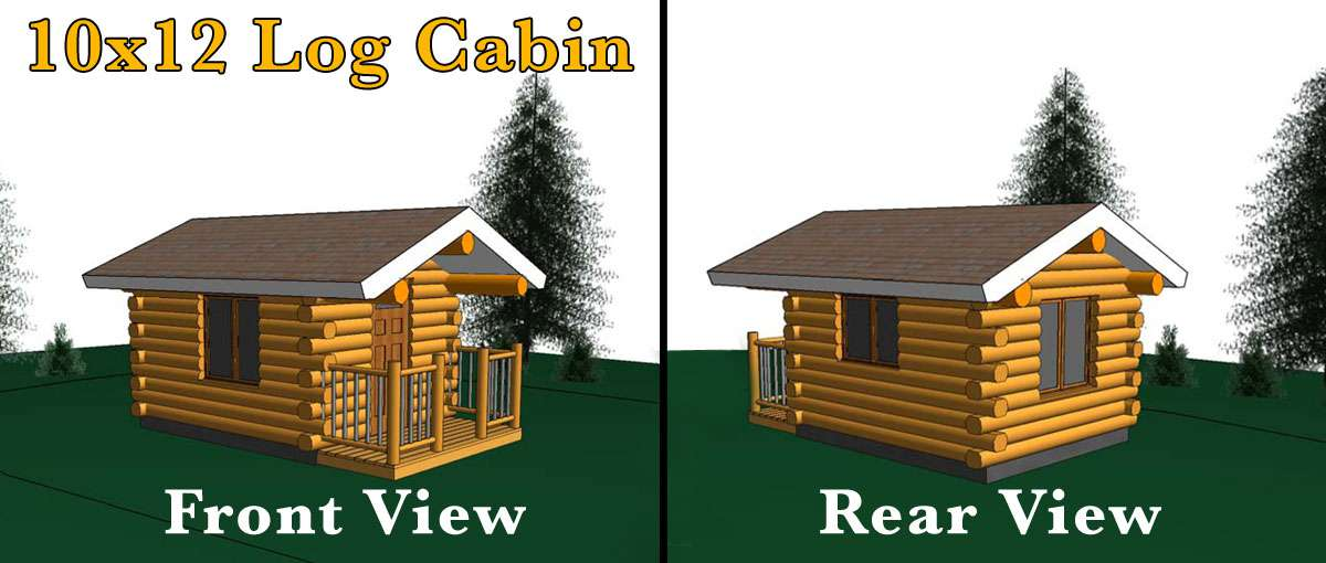 Bluebird 10x12 Log Cabin Meadowlark Log Homes
