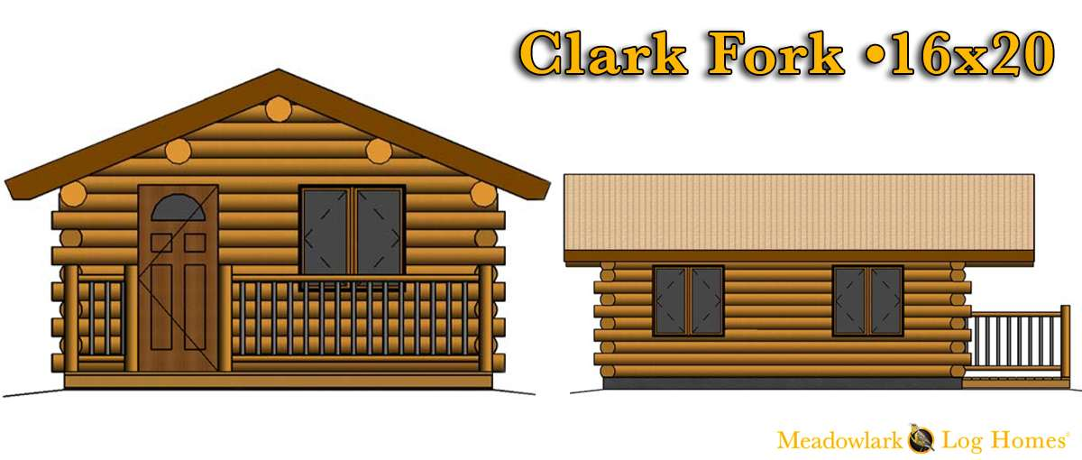 16x20 log cabin meadowlark log homes for 24x30 cabin